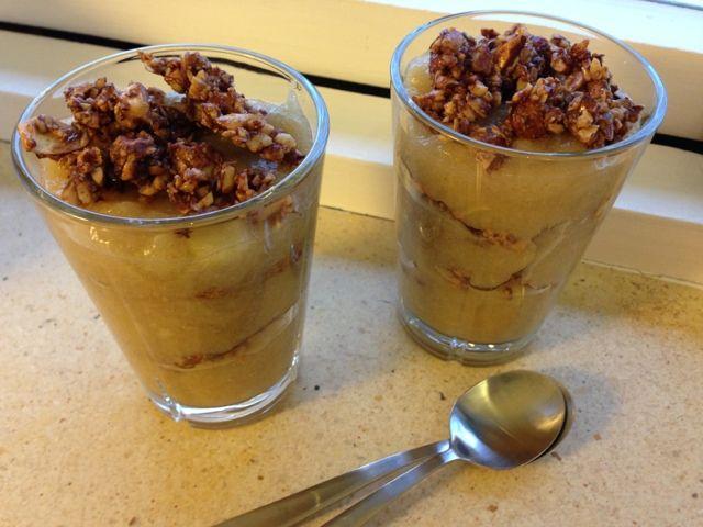gammeldags æblekage uden mel & sukker | Kager og andet sødt - bare uden sukker :-) | Gluten free ...
