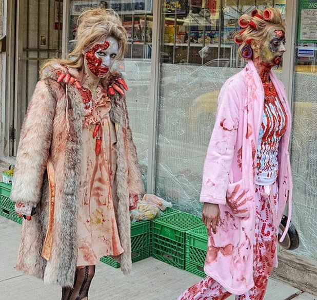 Spooky Halloween Costumes for Women Holiday Spooktacular - zombie halloween ideas