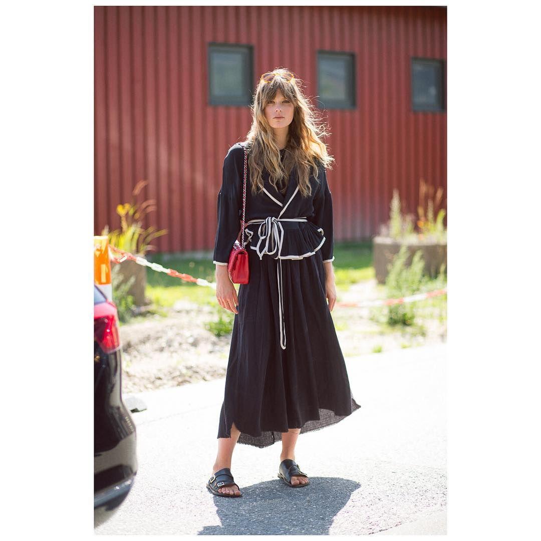 """The Outsider - Diego Zuko on Instagram: """"Caroline Brasch during Copenhagen FW • @caroline_brasch #carolinebrasch #modelsoffduty #style #streetstyle #chanel #fashion #fashionweek #theoutsider #theoutsiderblog #diegozuko"""""""
