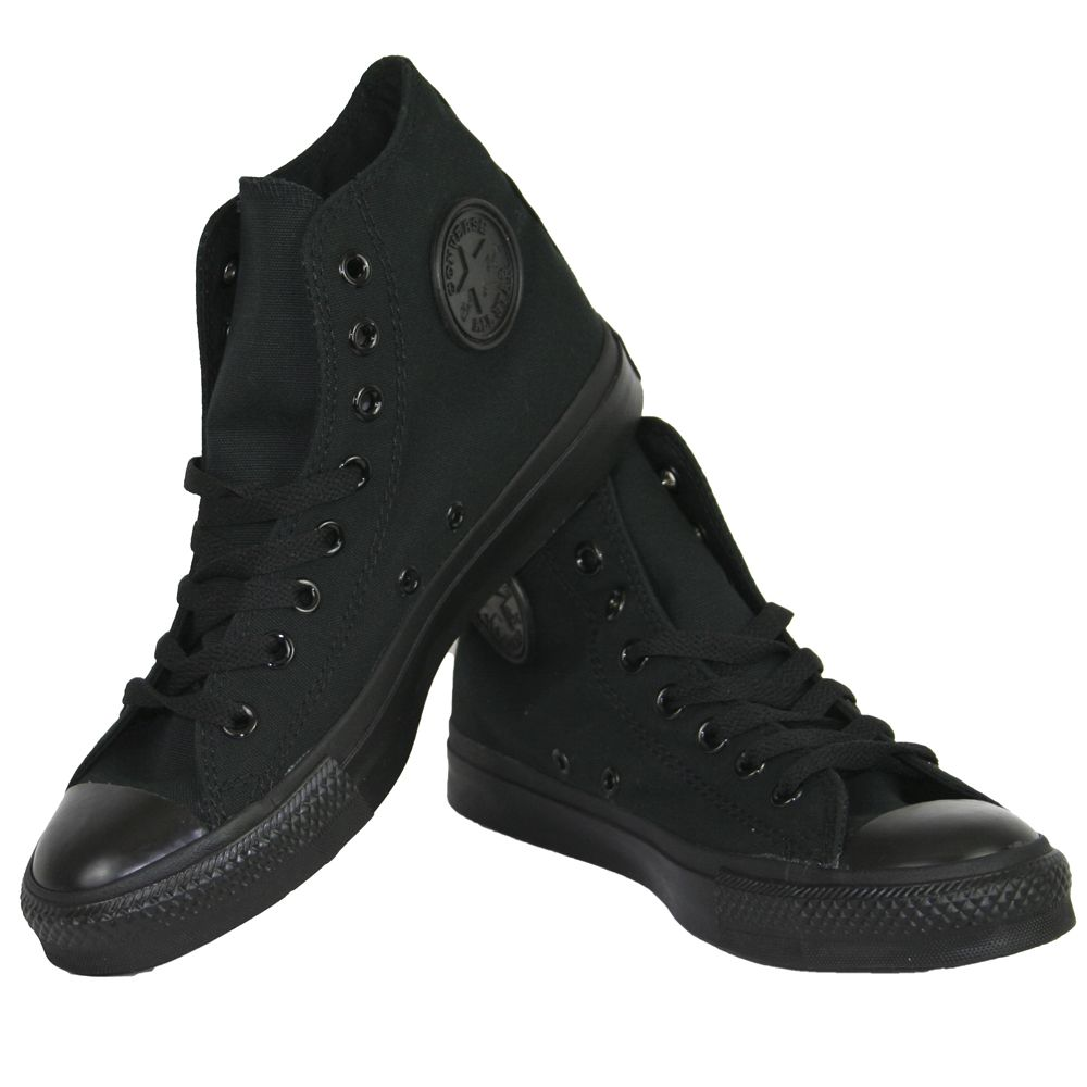 black converse shoes mens