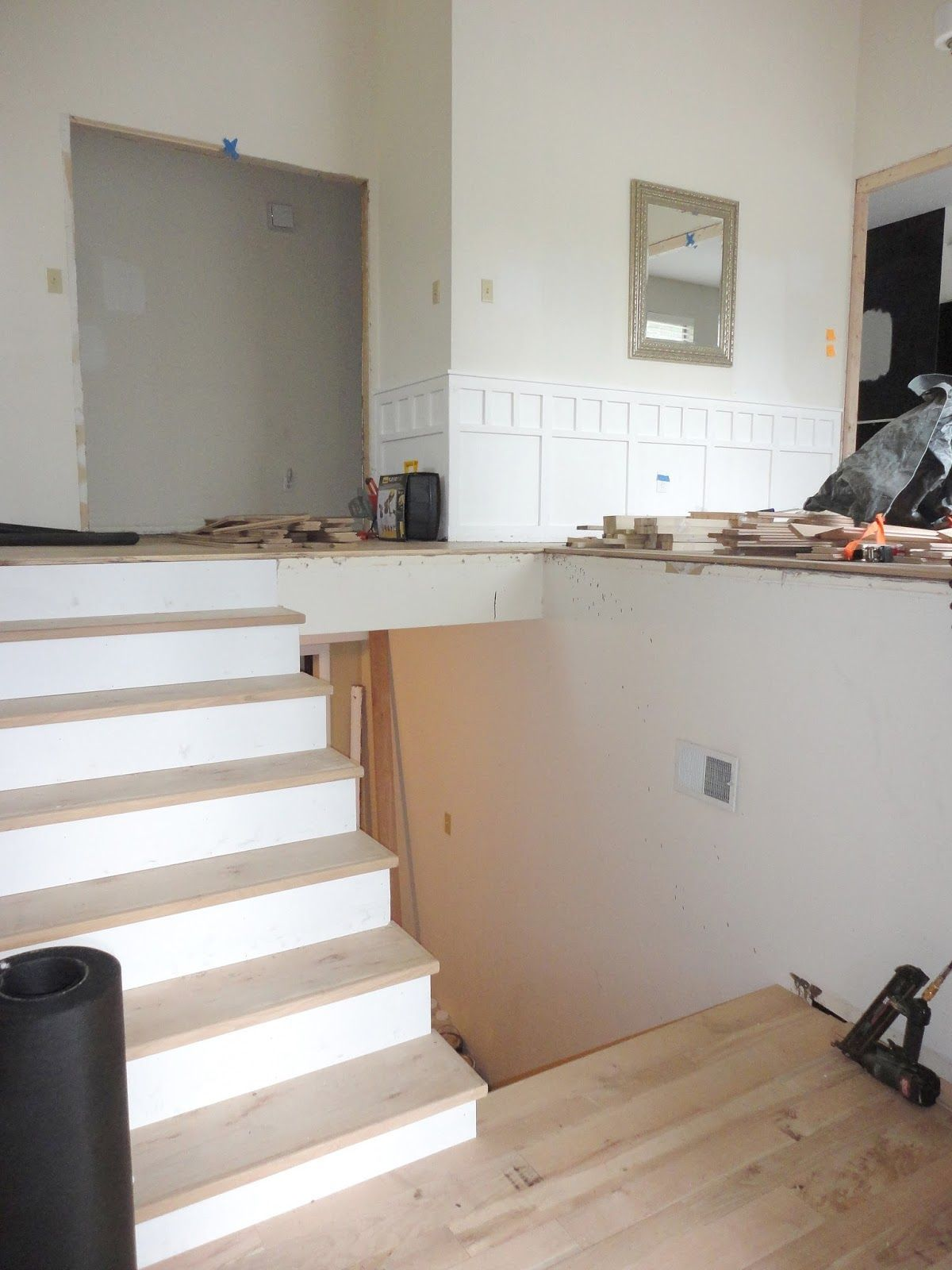 Best Our 1970 S House Makeover Part 5 My Biggest Flooring 640 x 480