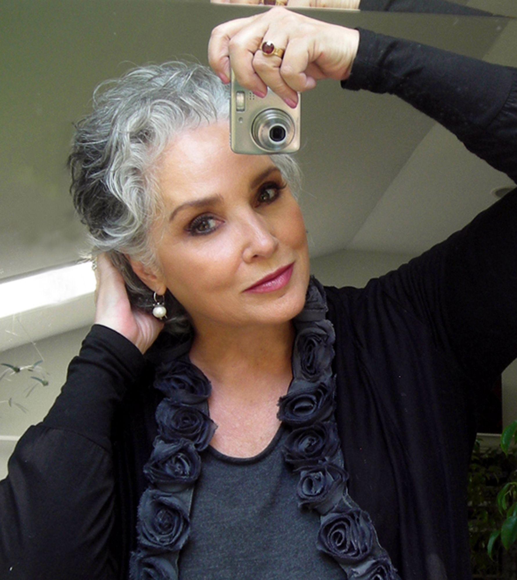 Gray Hair grey Pinterest