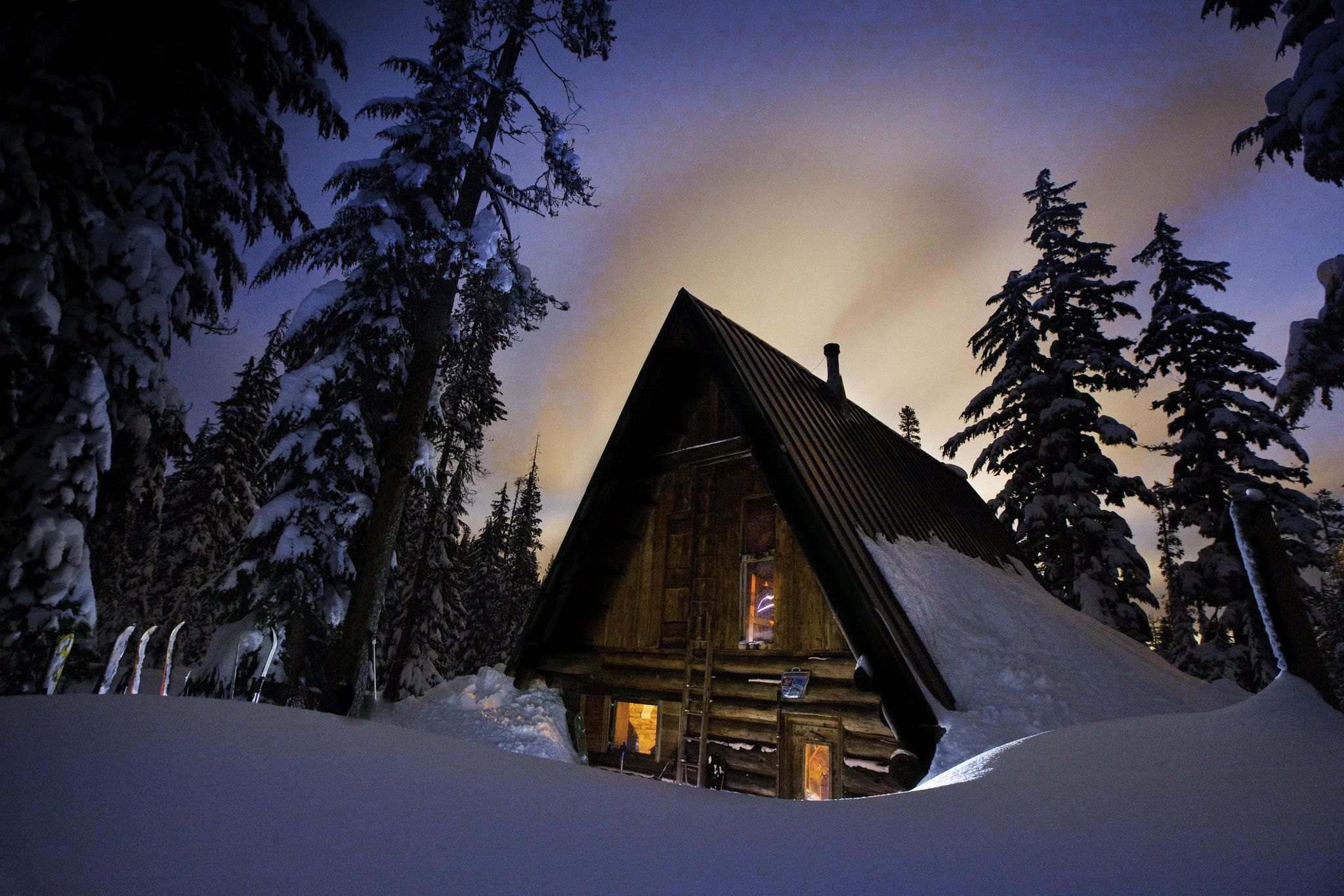 A rustic ski cabin in oregon my all time favorite vacation good