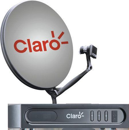 Kit Antena Parabolica Claro Tv Livre Digital Via Satelite