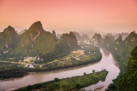 Enormous Beauty of River Li, China (5 Images)