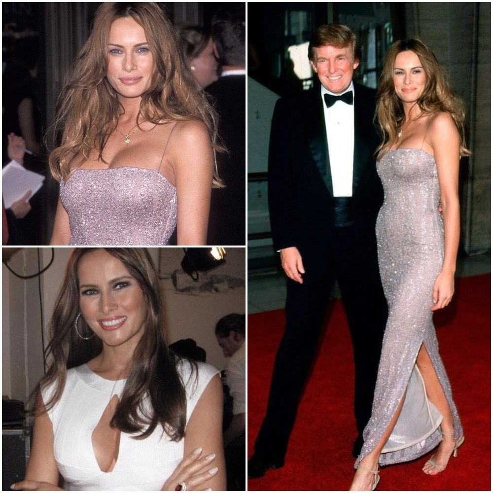 Melania Trump Wedding Dress Biography Age Height Bra Size Melania Trump Wedding Dress Strapless Dress Formal Melania Trump Wedding