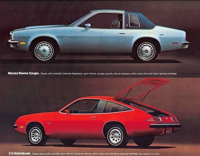 1976 Chevrolet Monza Chevrolet Monza Chevrolet Monza