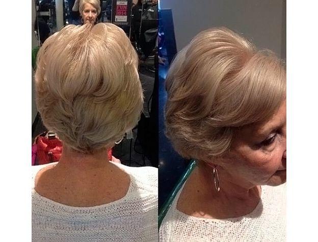 Стрижки на короткие волосы 2015 фото женские после 50 лет ...