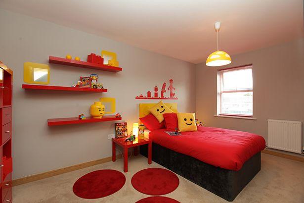Rec mara para ni os decorada al estilo lego geek for Decoracion de recamaras para ninos