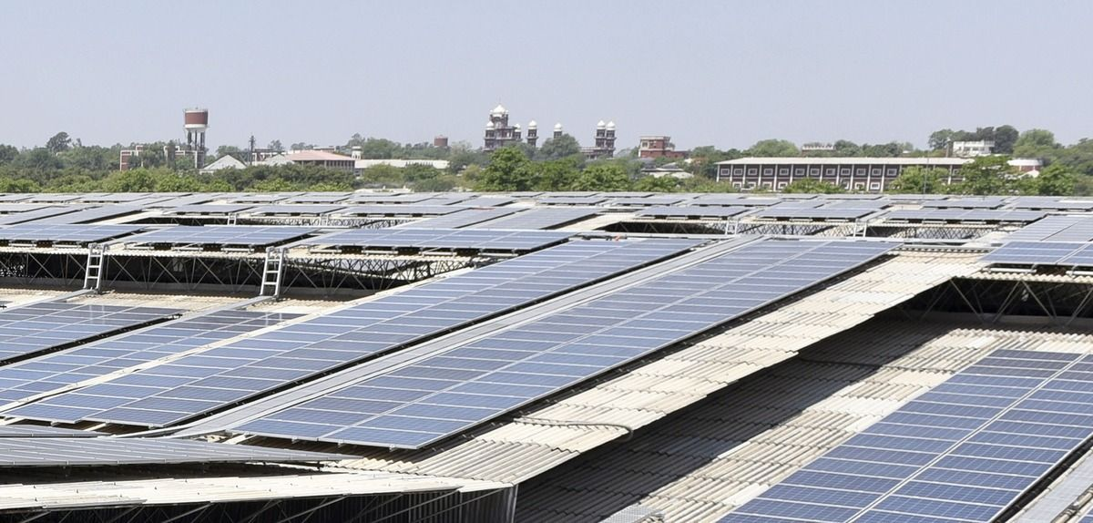 India Inaugurates One Of The World S Biggest Solar Rooftop Power Plants Solar Panel Cost Solar Pv Systems Solar
