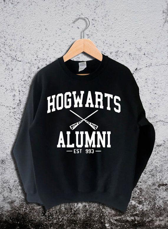 Hogwarts Alumni Sweatshirt Harry Potter Unisex by Ridaar on Etsy