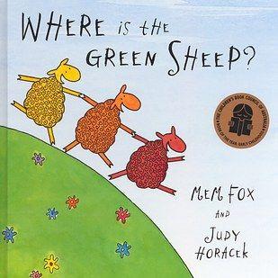 Where is the Green Sheep?, Mem Fox and Judy Horacek   29 Children's Books All Australians Grew Up Reading