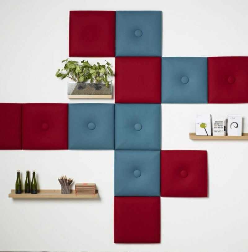 Innovative Wandverkleidung mit Akustikplatten | Wandverkleidung ...
