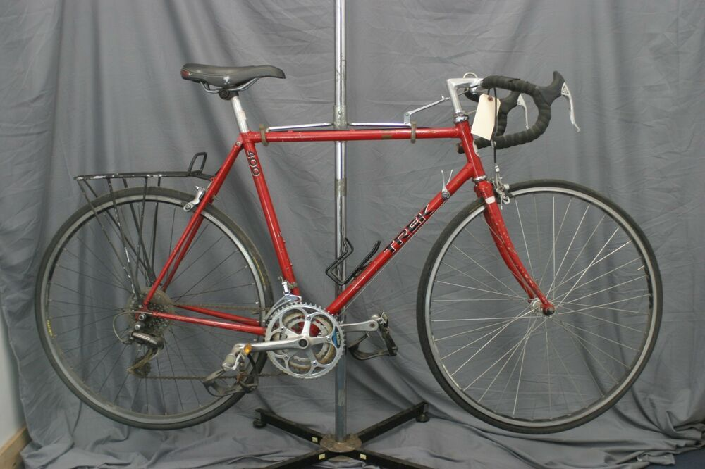 Trek 400 Vintage Road Bike 56cm 80s Touring Gravel Usa Made Lugged