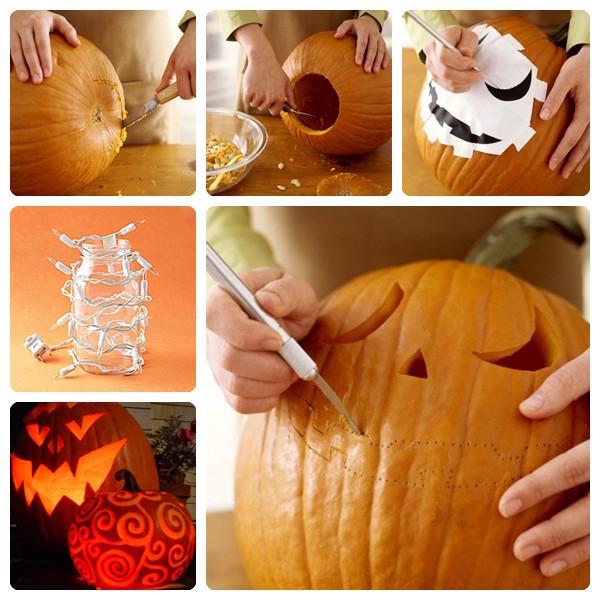 10 Ideas De Calabazas Decoradas De Halloween Pequeocio Decoraciones De Calabaza Decoracion Calabazas Halloween Decoración Halloween