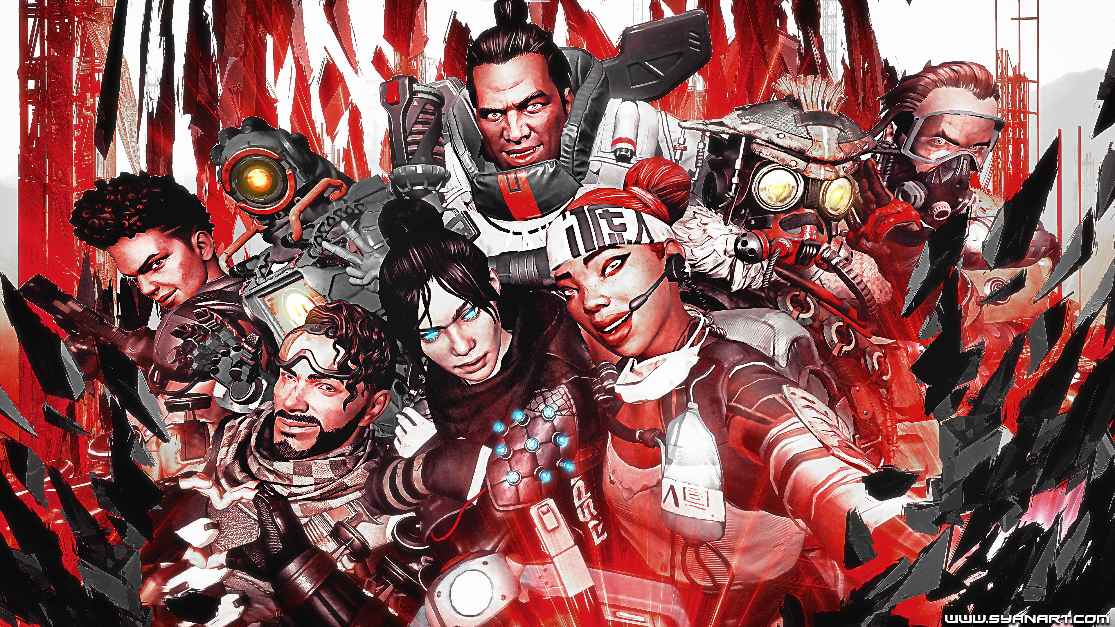 Apex Legends 4K Wallpaper Gaming wallpapers, Apex, Wallpaper