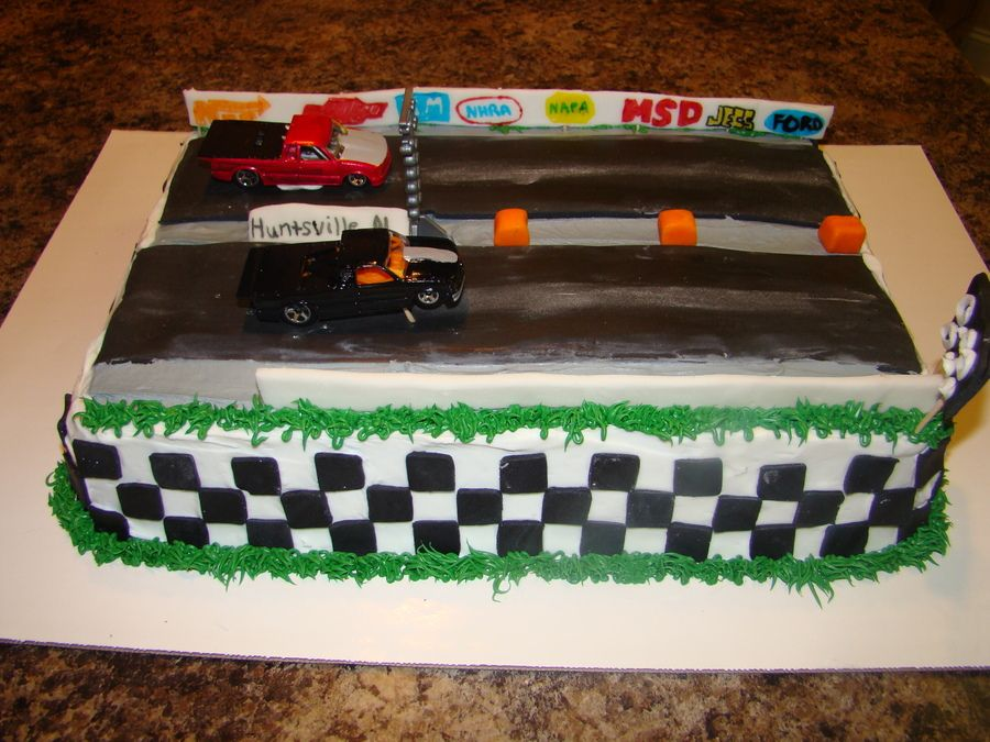 Drag Racing Wedding Cake Pin Race By Artyliciouscakes Cakesdecorcom On Pinterest