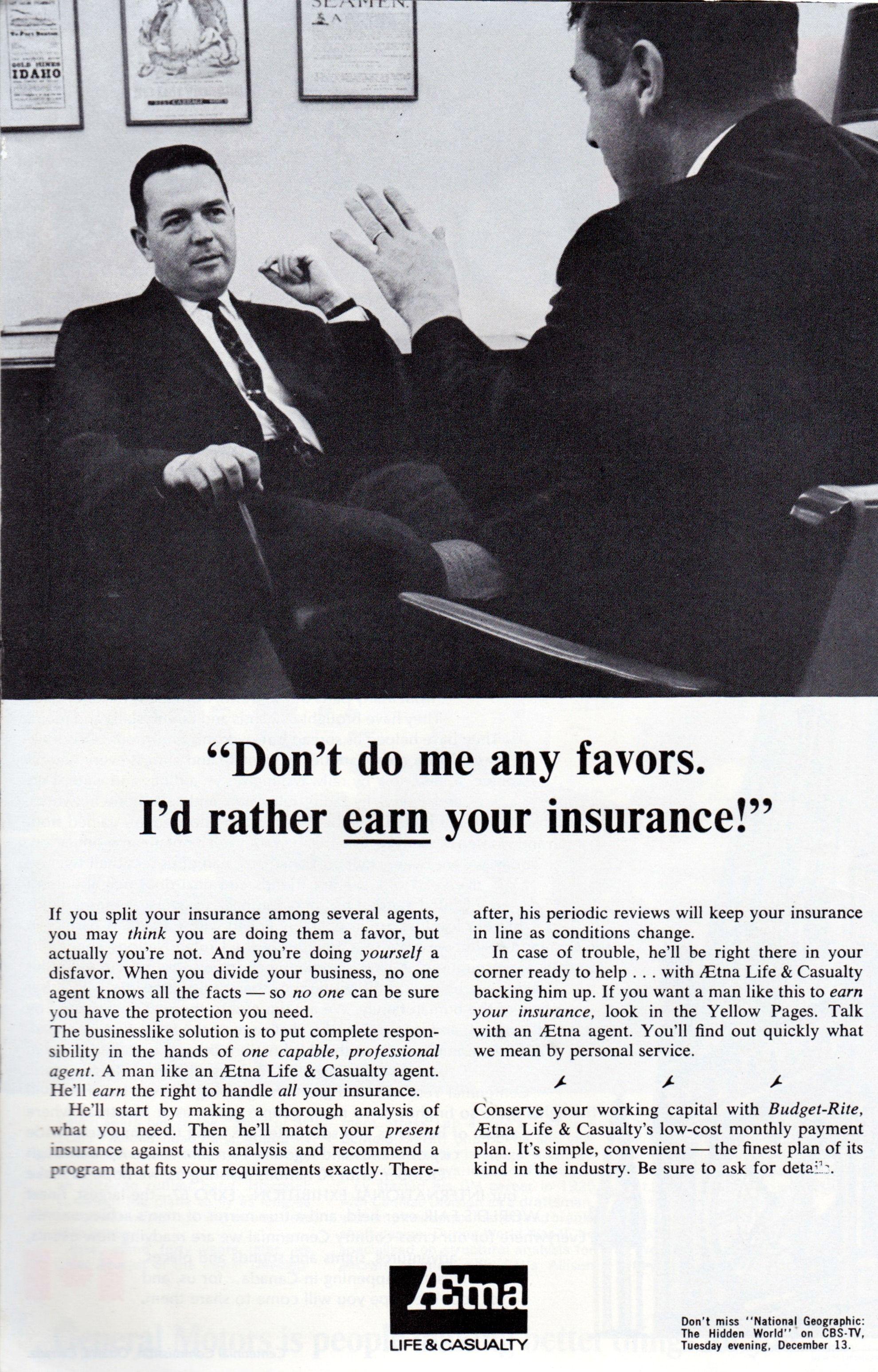 Aetna Insurance Aetna Insurance Vintage Ads Aetna