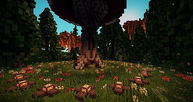 Enchanted Forest u2013 Survival Games Minecraft World Save  Minecraft - copy flat world survival map download