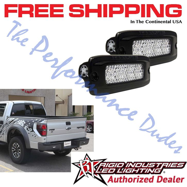 Same Business Day Shipping Rigid Industries Sr Q Flush Mount Diffused Back Up Led Light Kit 2 98003 Rigid Industries Led Light Kits Led Lights