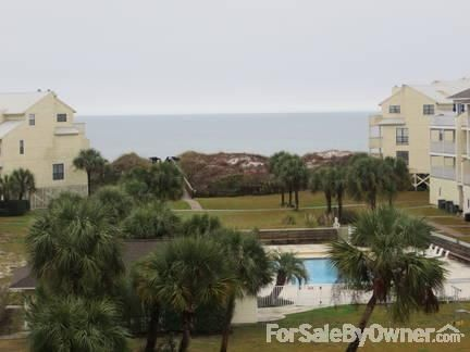 Large Cape San Blas townhome with great Gulf views!
