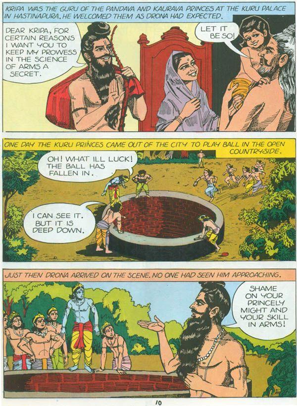 Heroes From The Mahabharata Bheeshma Drona Tales Of Arjuna Karna Abhimanyu Comic The Mahabharata Comics Hero