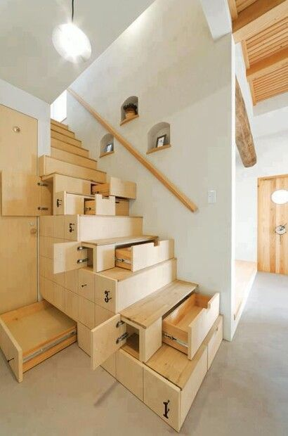 Drawer Staircase...