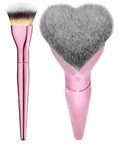 It Cosmetics Ulta Love Is The Foundation Foundation Brush Pink Heart Shaped Makeup Brush Kit Kabuki Makeup Brushes It Cosmetics Brushes