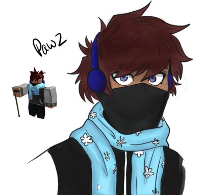 Cool Roblox Drawings Drawing Roblox Characters As Anime