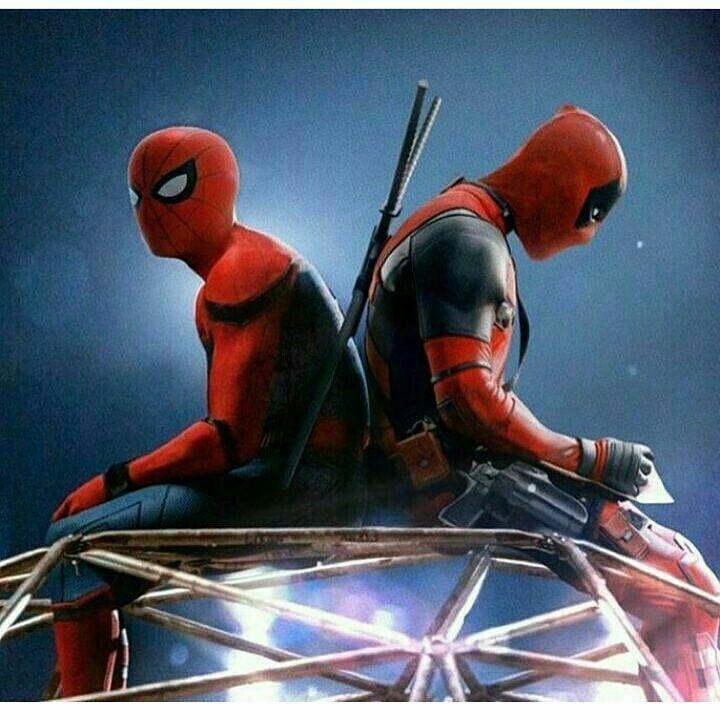 Человек паук и Дэдпул | Marvel | Pinterest