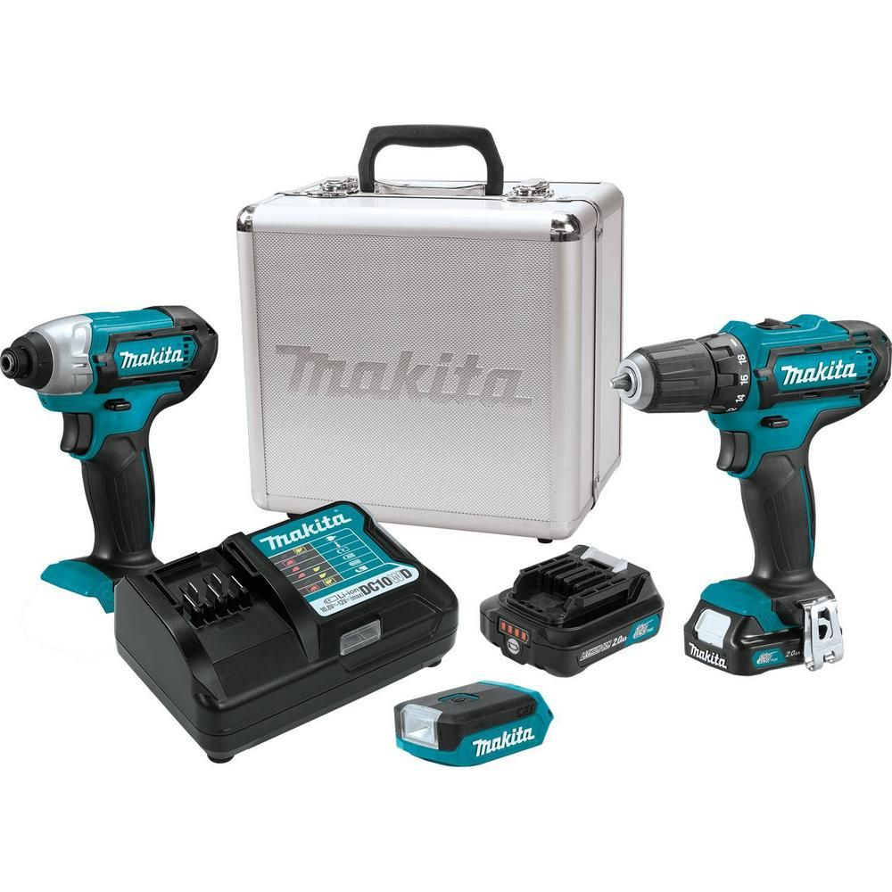 Makita 12 Volt Max 2 0ah Cxt Lithium Ion Cordless Combo Kit 3 Piece Driver Drill Impact Driver Flashlight Combo Kit Impact Driver Cordless Drill Reviews