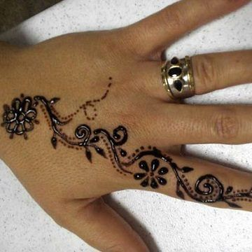 Diseños Originales De Tatuajes De Henna Faciles Tatuajes