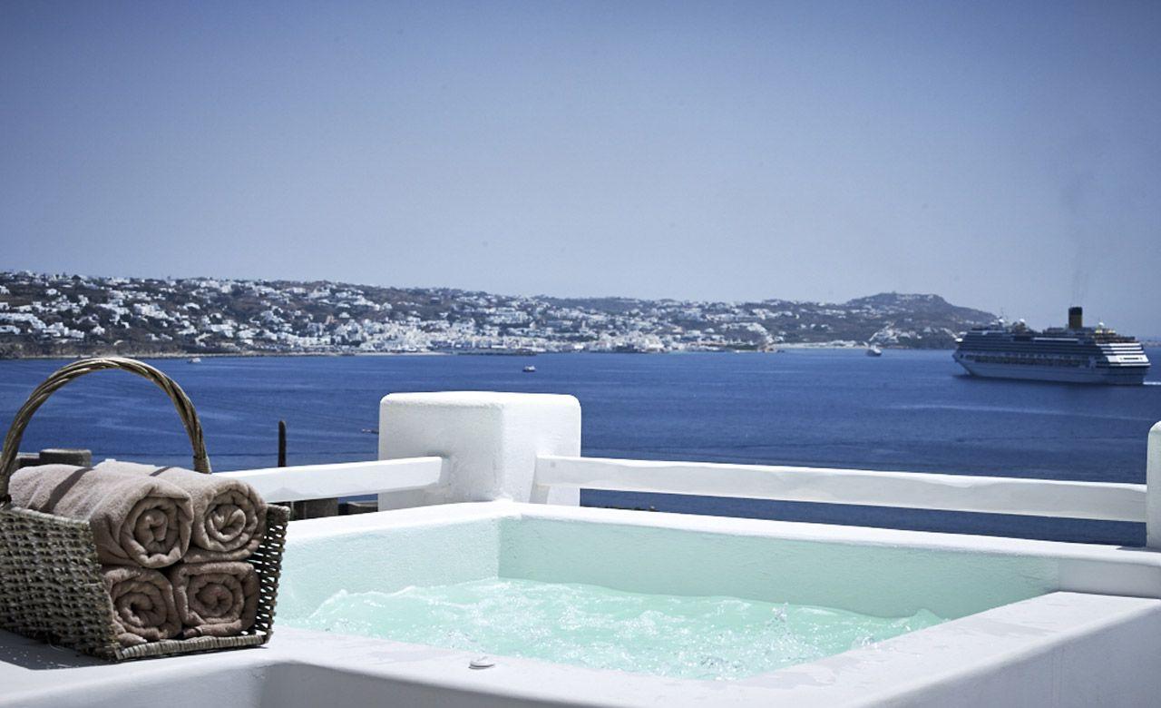 Rocabella Hotel In Mykonos Island Greece With Images Mykonos