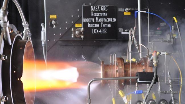 NASA successfully tests 3D-printed rocket engine injector