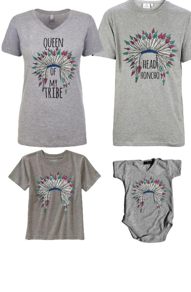 Tribal family tshirt  Pennyharper.storenvy.com