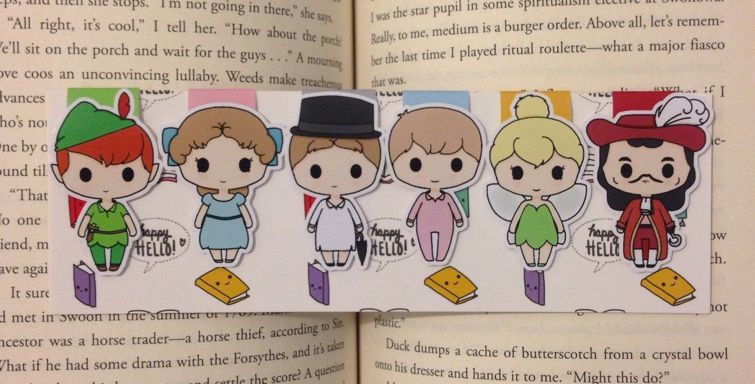 Magnetic Bookmarks  Never Grow Up (15.00 CAD) by HappyHelloCo