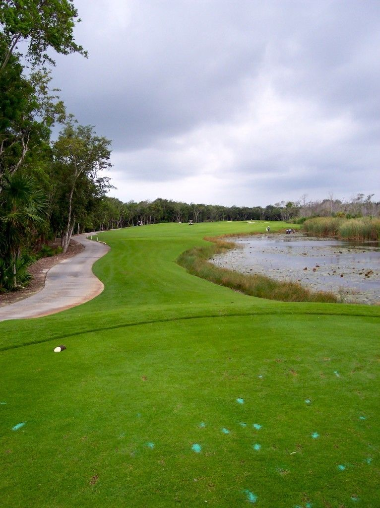 The Golf Club at Moon Palace Cancun, Mexico. Played this