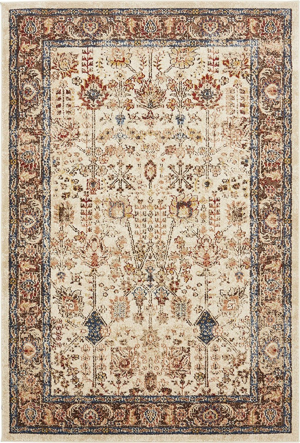 Kitchen Floor Rugs Impressive Amazon Traditional Persian Rugs Vintage Design Inspired 5073 12