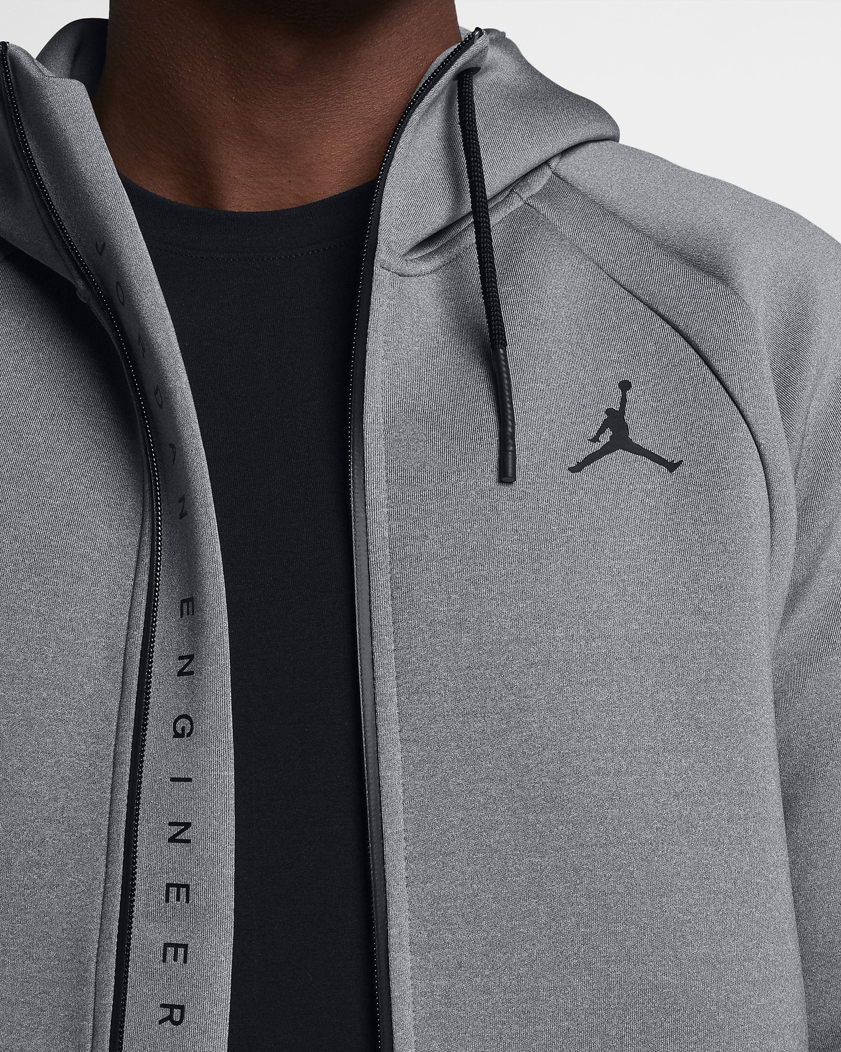 b82667f3d7a Jordan Sportswear Flight Tech Fleece Men's Full-Zip Hoodie | FNF in ...
