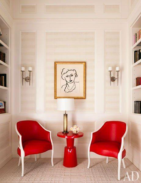 schneller kurs vintage interieur design, this new york apartment features a museum-worthy art collection, Design ideen