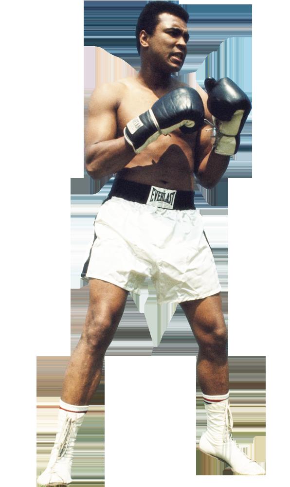 muhammad ali world champion boxer image with no background