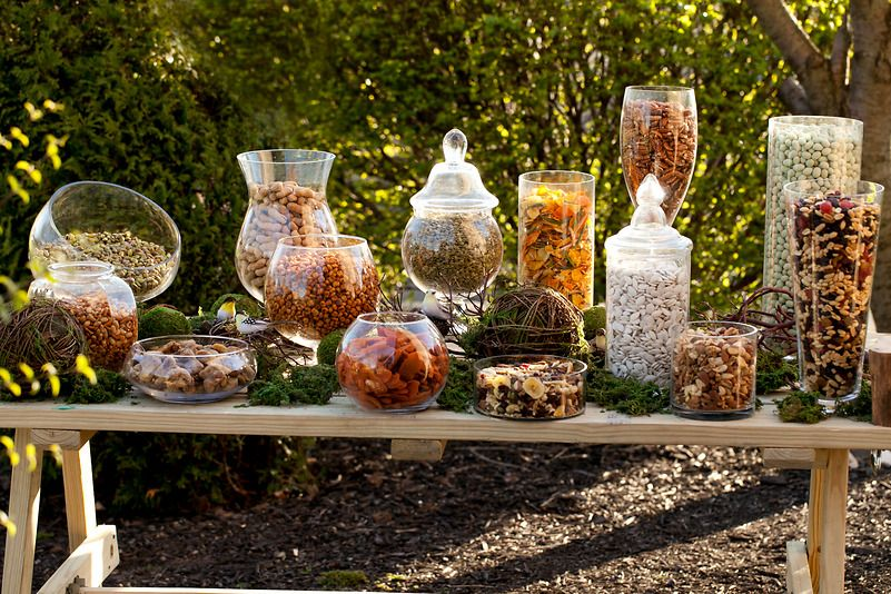 """""""Rustic"""" Snacks For On The Tables? I Was Thinking About"""