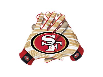 super popular 38326 72adf Nike Stadium (NFL 49ers) Men's Gloves | Stuff to Buy | San ...
