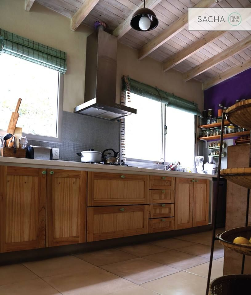 Mueble De Cocina Madera Paraiso Disenosamedida Proyectosamedida Www Sachamuebles Com Www Facebook Sac Muebles De Cocina De Madera Muebles Muebles De Cocina