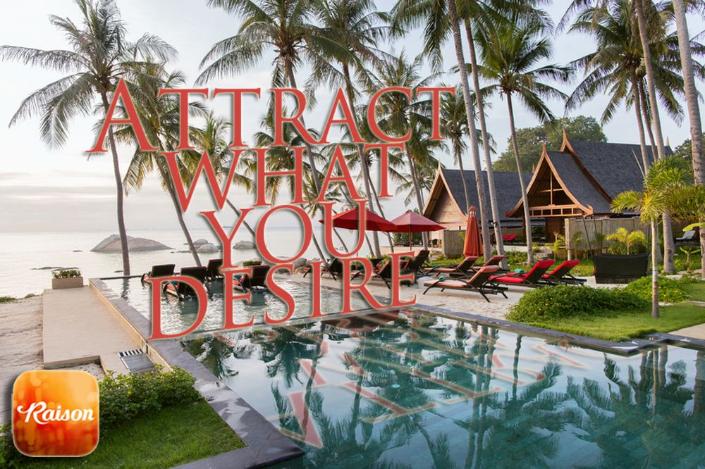 Choose an image that reflects your desire, and schedule