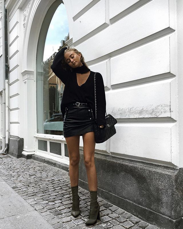 outstanding black outfit inspo men