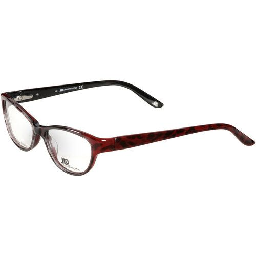 JLo Jennifer Lopez Frames with Case and Cleaning Cloth, Burgundy ...