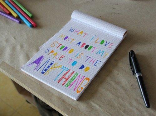 handwritingameliemancini