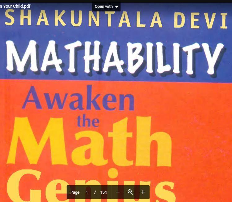 Mathability Awaken the Math Genius in Your Child PDF | Banking ...