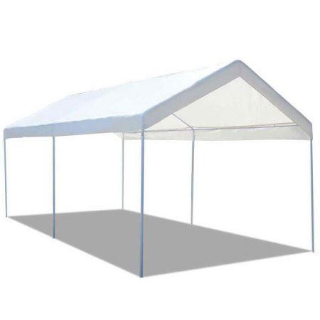 Gymax Steel Frame Party Tent Canopy Shelter Portable Car Carport Garage Cover Walmart Com Canopy Tent Canopy Shelter Party Tent